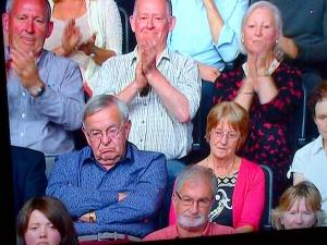 BBC QUastion Time audience - twitter photo from @juicyformats